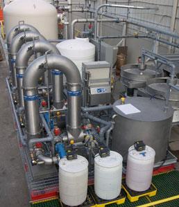 Frac Flowback Water Reclamation Treatment Ph